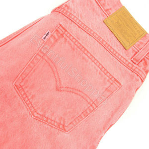 Levis High Waist Ankle Mom Jeans Size 27